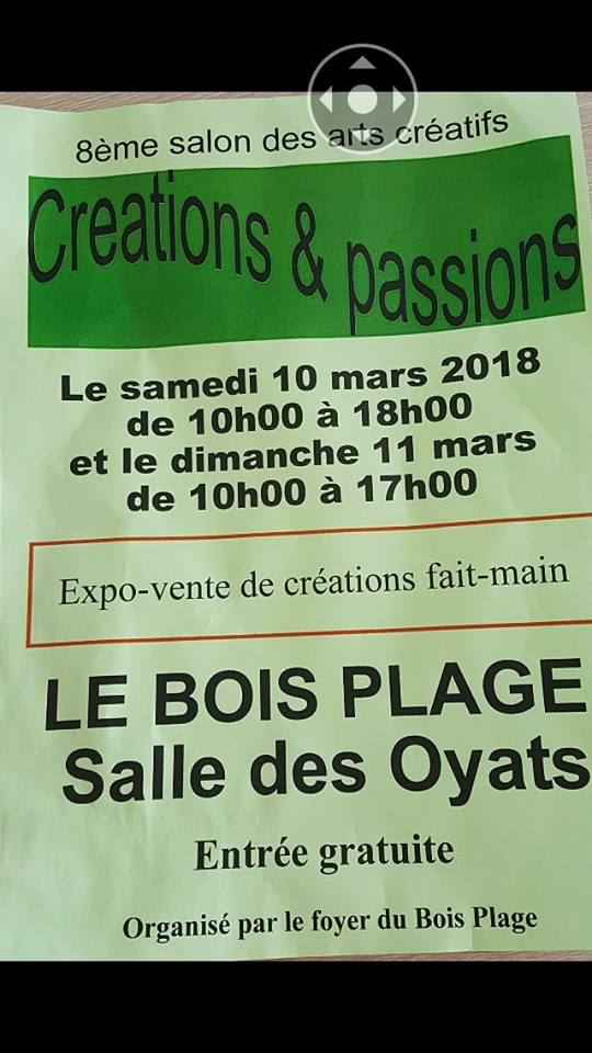 salon creations passions 10 et 11 mars 2018